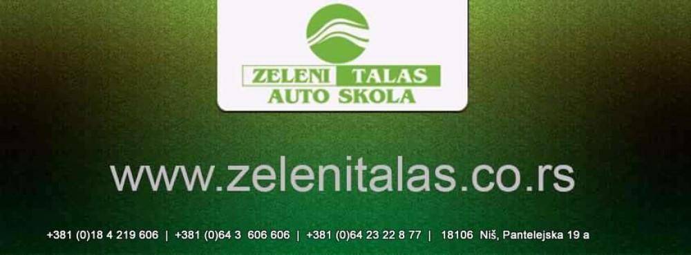 "Auto-škola ""Zeleni talas"" d.o.o. Niš"